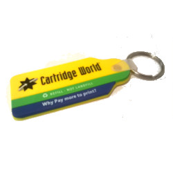 Cartridge World Key Ring