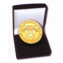 United States Military Academy Pin - Presented in a velvet box
