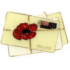 RSA - Letters From Home Lapel Pin