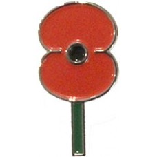 RSA - Poppy Lapel Pin