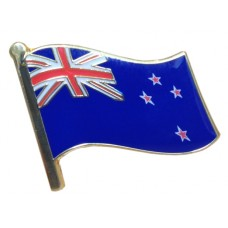 NZ Flag Lapel Pin / Badge - NZ Souvenir